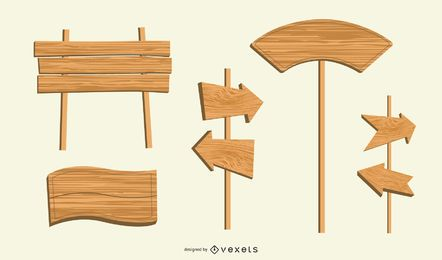 The Planks Sign 04 Vector