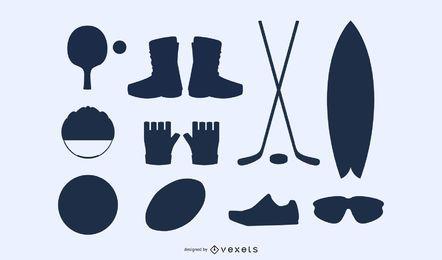Sportausrüstung 02 Vector 2