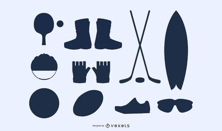 Sports Equipment 02 Vector 2