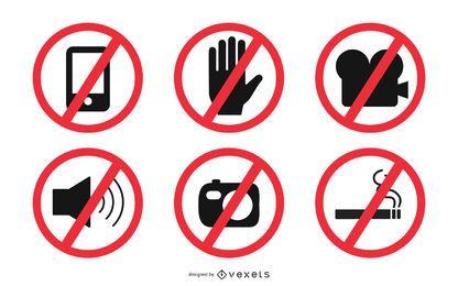 Señales Prohibidas