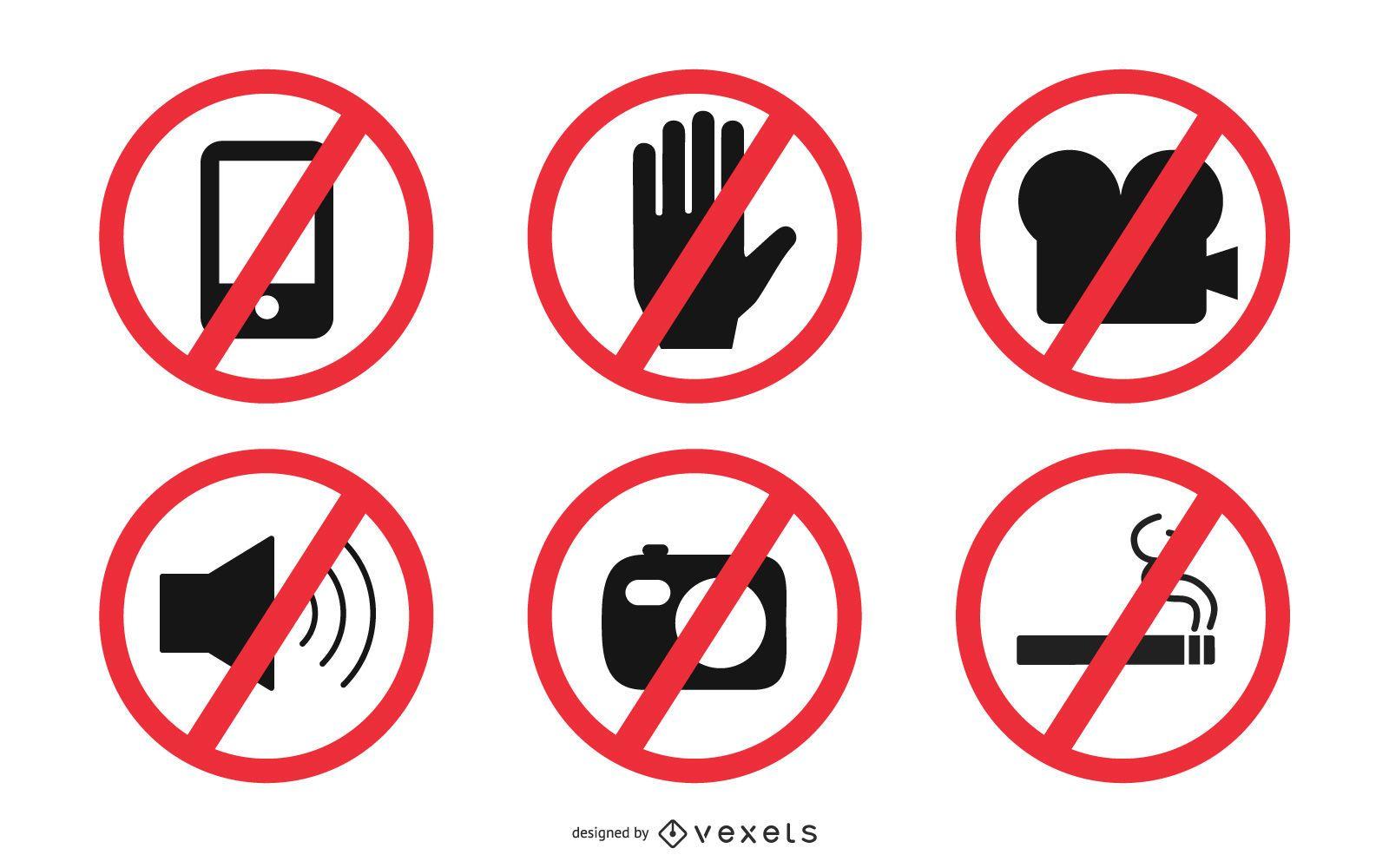 Sinais de proibição