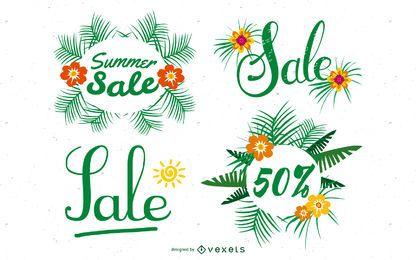 Summer Deals Posters 04 Vector