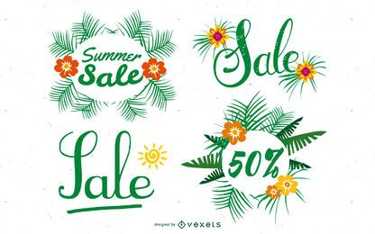 Summer Deals Posters Vector