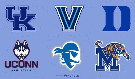 Ncaa Menfs Basket Logos Pt2