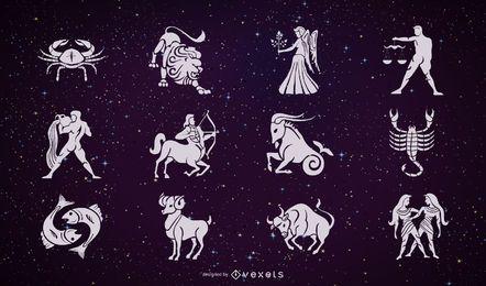 Vector del zodiaco 2