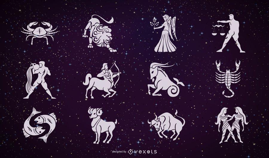 Vector zodiacal 2