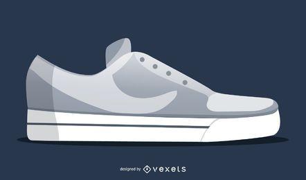 Vector de zapatos Nike Air
