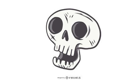 Cute Skull Vector Alternative