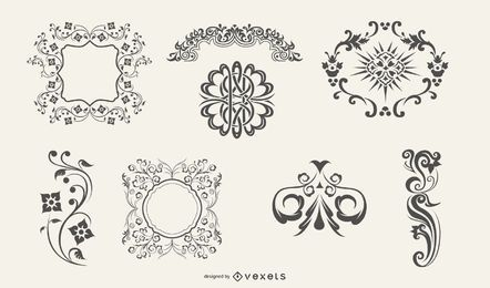 Ornaments And Flourishes
