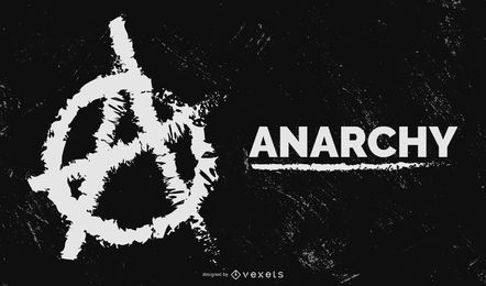 Diseño de símbolos de anarquía Tommy Brix
