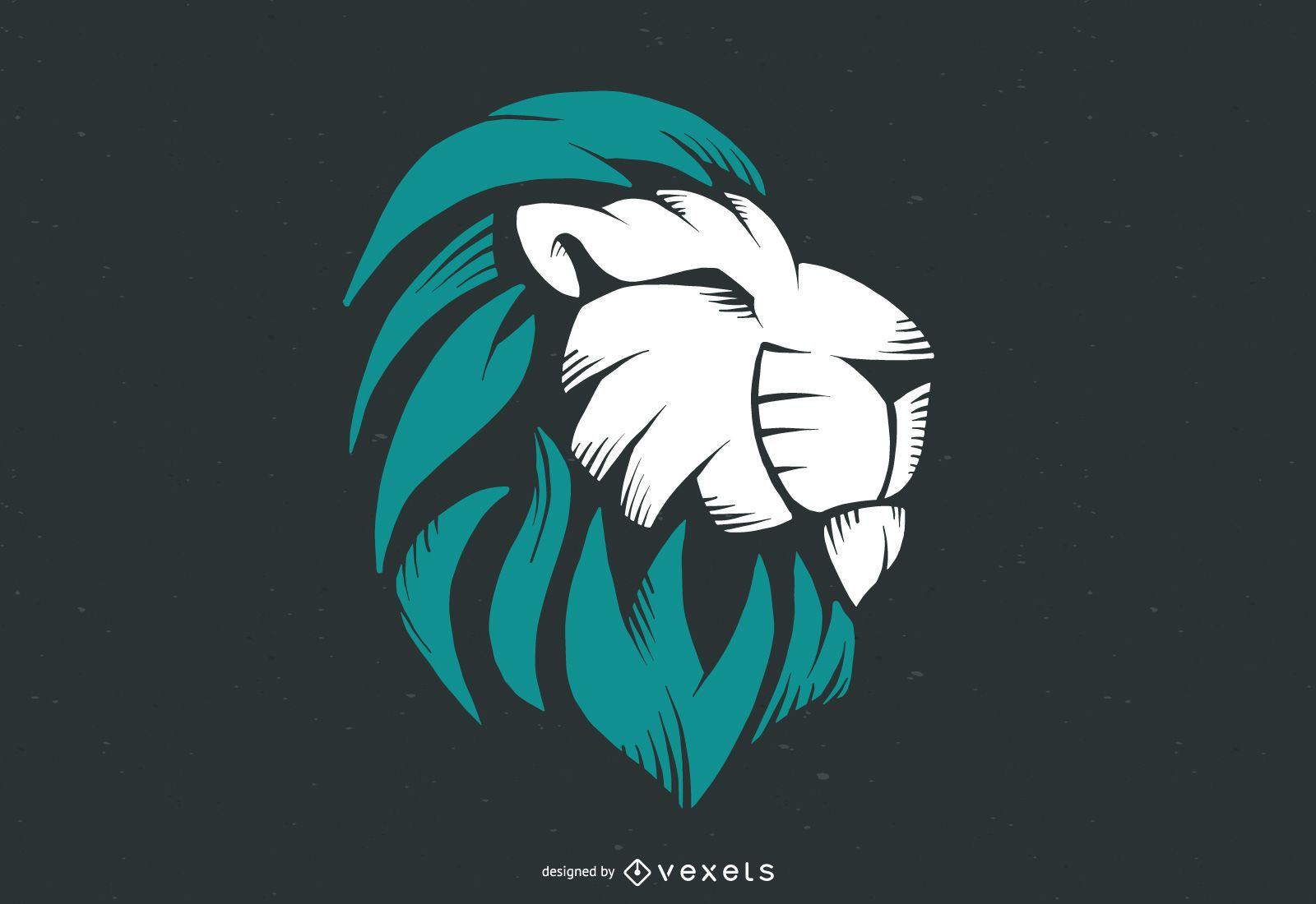 Vector de logotipo de le?n