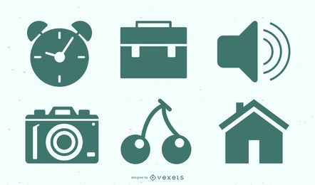 Freelance Work Icon Set