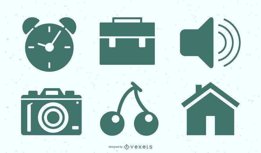 Freelance Work Icon Set