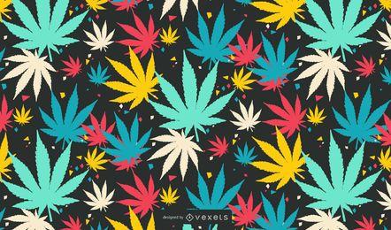 NixVex Vector libre de hojas coloridas