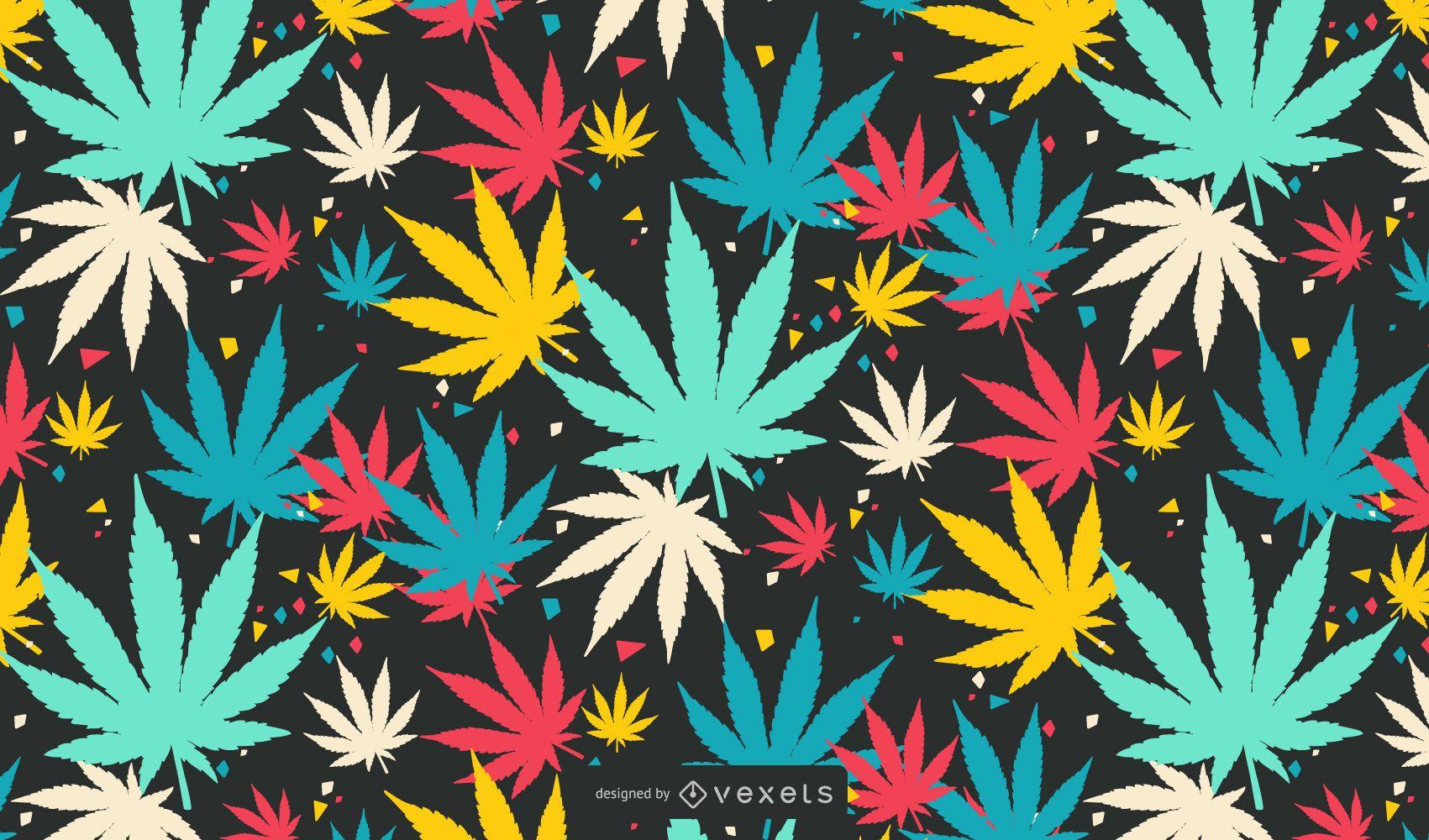 Vetor NixVex grátis de folhas coloridas