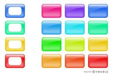 14 cajas brillantes