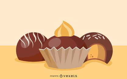 Chocolate Candy Clip Art