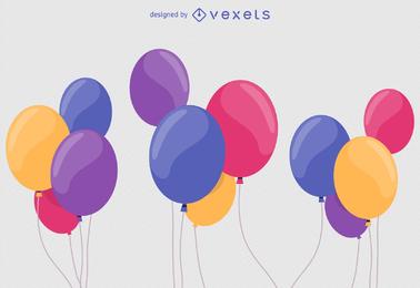 Ballon-Vektor