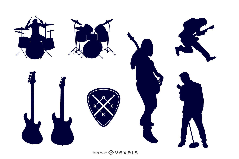 Rock Vector Set