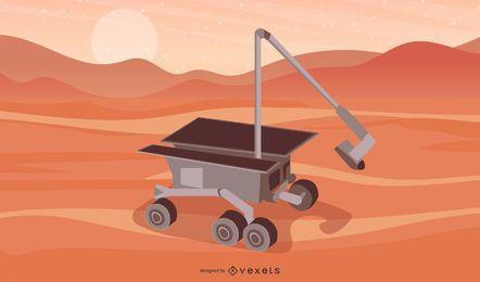 Robot espacial Vector 2