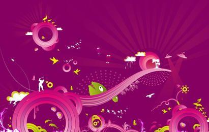 Purple Madness Wallpaper