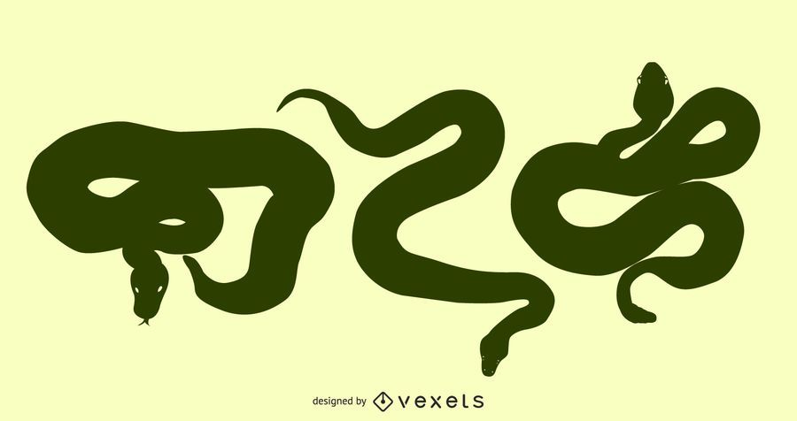 Gomedia Snakes Produced Vector