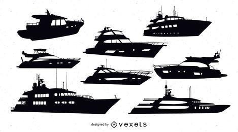 Vektor-Motoryacht