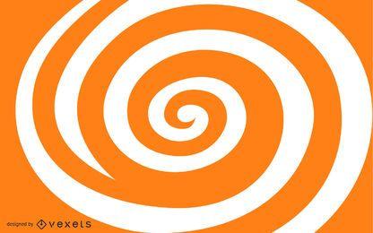 Forma espiral livre do redemoinho do vetor