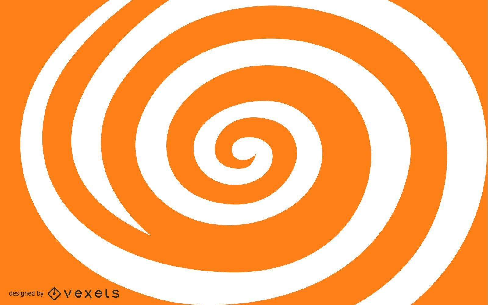 Whirlpool Spiral Shape Background