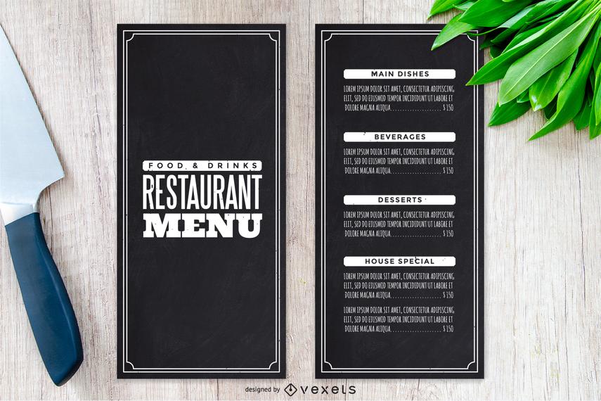 vector elegant menu vector download