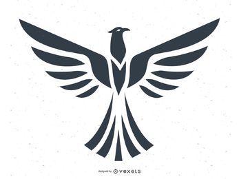 Adler-Totem-Vektor