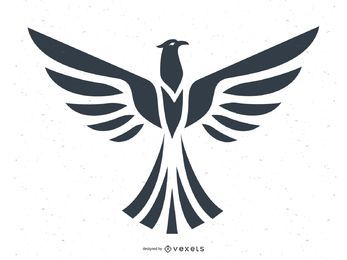 Vetor de totem de águia