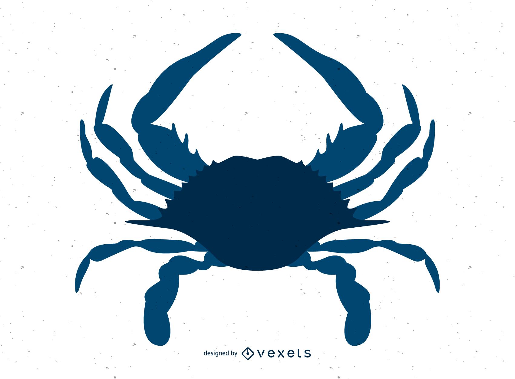 Blue Crab - Vector Download
