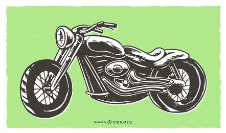 Gráficos de vetor de motocicleta
