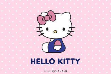 Olá Kitty vetor oficial 152