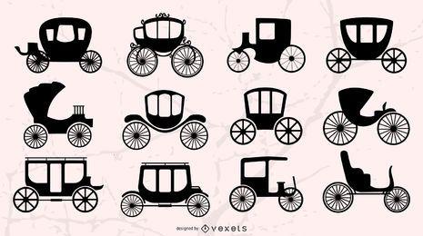 Vektor-Wagen