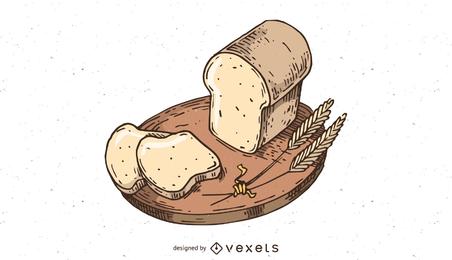Panadería vector