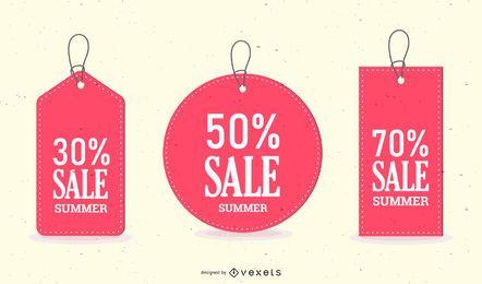 Discount Sales Tag Vector 3