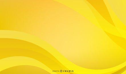 Helle gelbe Linie Textbox-Vektor 1