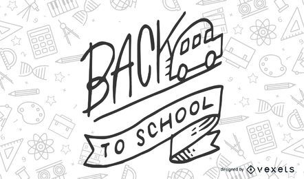 School Theme Vector 3