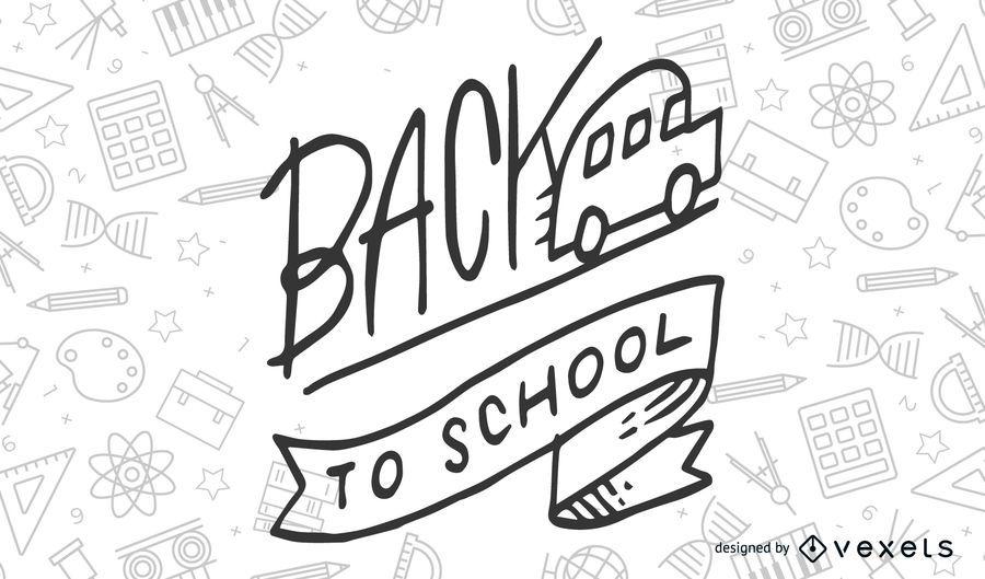 School Theme Vector 3