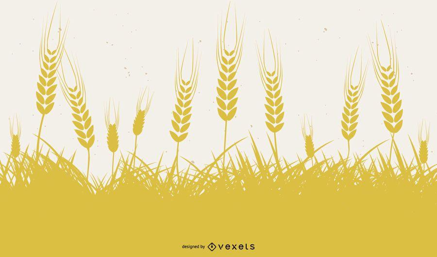Trigo Amarillo 03 Vector