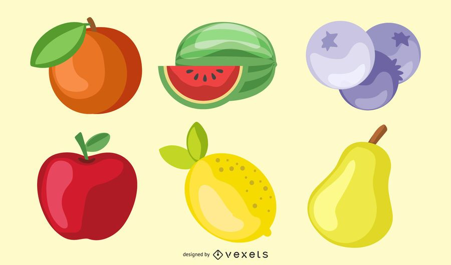 Crystal Fruit Vector 2