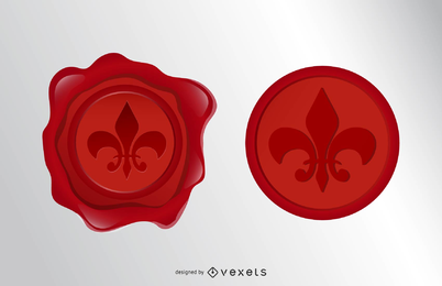 Wax Seal Vector 2
