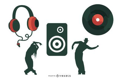 Go Media Produced Vector Set15deejay Tendencia