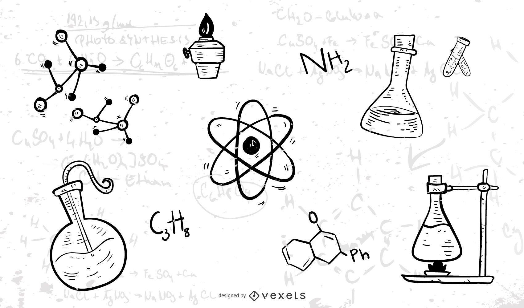Chemical Formula Symbol Vector