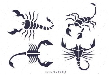 Scorpion Totem Vector