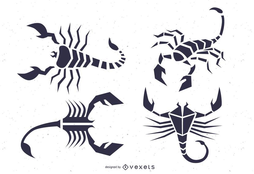 Skorpion-Totem-Vektor