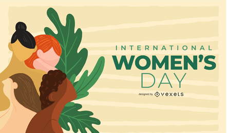 Zarte Hintergrund der Frauentag