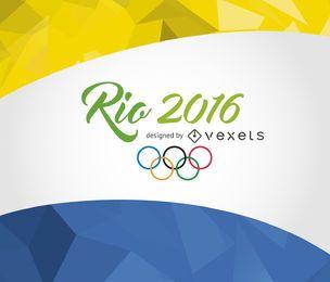 Rio 2016 bandeira